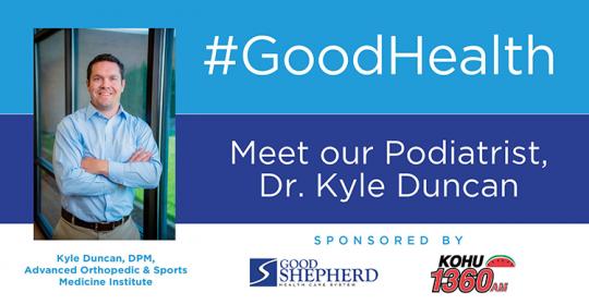 Meet Our Podiatrist, Dr. Kyle Duncan
