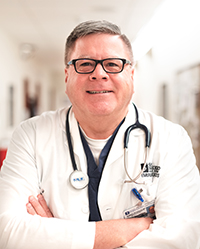 As the Emergency Services Medical Director at Good Shepherd Health Care System Robert McCauley, MD, is working to address the emergency needs of our community with a focus on reducing wait times and improving each customer experience regardless of the emergency they may be experiencing.