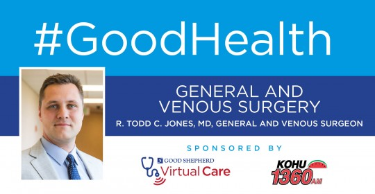 General and Venous Surgery with R. Todd C. Jones, MD, General and Venous Surgeon