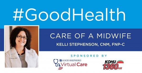 Care of a Midwife with Kelli Stephenson, CNM, FNP-C