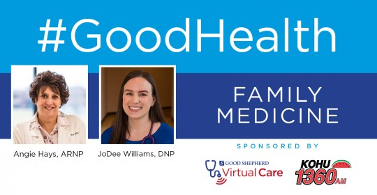 Family Medicine with Angie Hays, ARNP and JoDee Williams, DNP