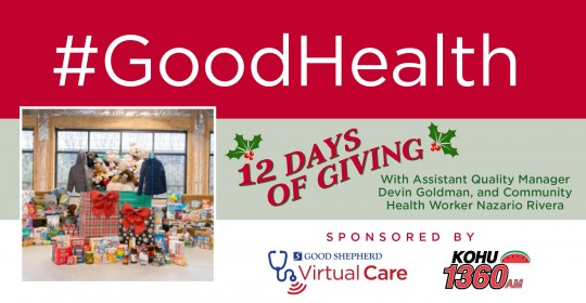 12 Days of Giving with Devin Goldman and Nazario Rivera