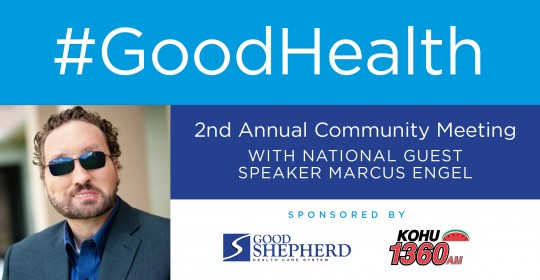 2nd Annual Community Meeting with National Guest Speaker Marcus Engel