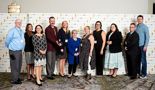 Good Shepherd Health Care System employees accepted the 2019 Top Workplace award on September 25, 2019 in Portland, Oregon.