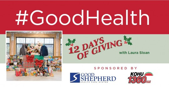 12 Days of Giving with Laura Sloan