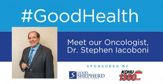 Meet our Oncologist, Dr. Stephen Iacobani