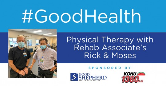 Physical Therapy with Rehab Associate's Rick & Moses