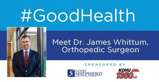 Meet Dr. James Whittum, Orthopedic Surgeon