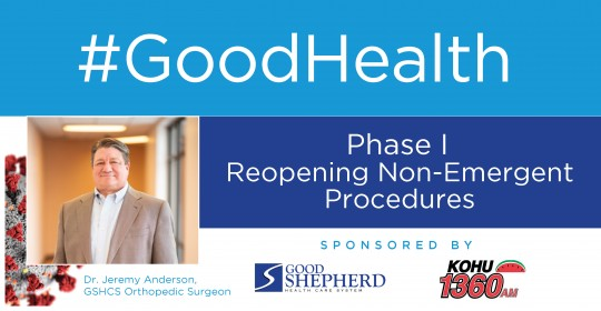 Phase I Reopening Non-Emergent Procedures