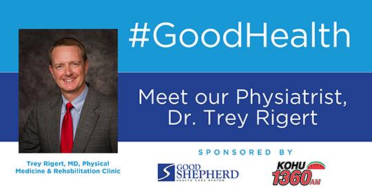 Meet Our Physiatrist, Dr. Trey Rigert