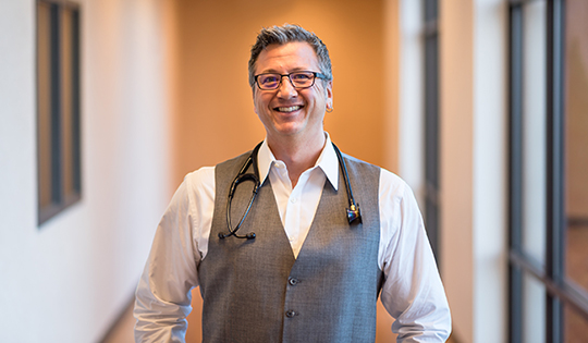 Dr. Matthew Carlson, Family Medicine physician at Good Shepherd Urgent Care.