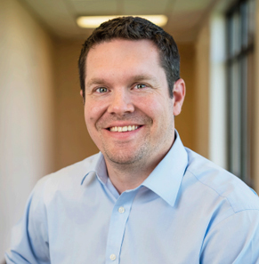 Podiatrist Dr. Kyle Duncan is glad to be practicing close to home and family.
